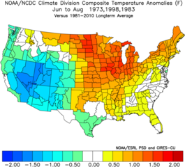 Summer forecast suggests warmer temperatures