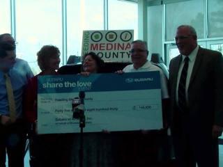 Feeding Medina County receives $45,830 donation