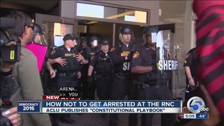 How not to get arrested at the RNC