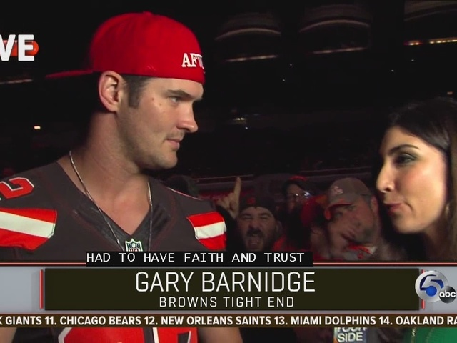 Draft Special barnidge interview