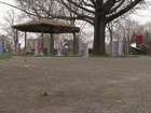 CLE delays deconstruction of Cudell gazebo