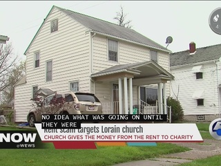Online scammers target local church