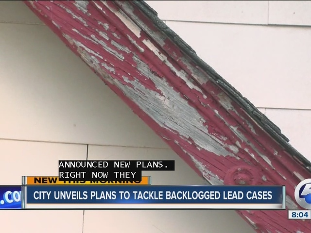 City unveils plans to complete lead inspections