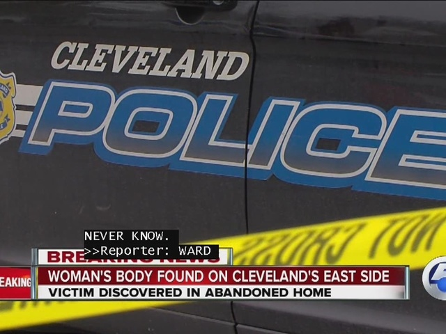 Woman's body found on Cleveland's east side