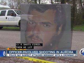 Aurora sergeant injured in crowbar attack