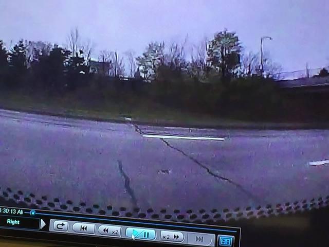 ODOT captures flooding on I-90