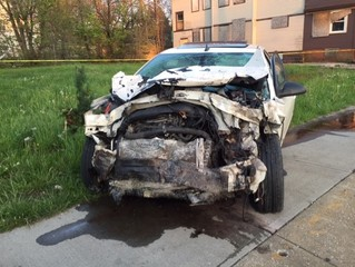CLE FD: 3 injured in crash at E. 116 & Honeydale