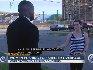 Cleveland women's shelter overcrowded