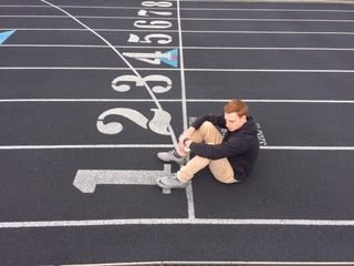 Track athlete who was saved grateful to coaches