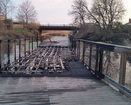 Akron Towpath reopens after suspicious fire