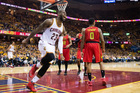 Cavaliers make record 25 3-pointers, rout Hawks