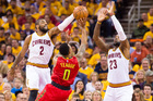 Cavs get ready for Game 2 against ATL Hawks