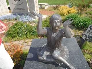 PD: 5 butterfly memorials to OH children stolen