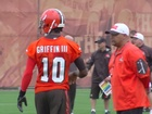 Browns super fan bears name of new QB RG3