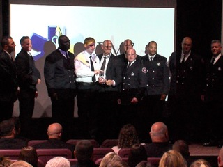 Akron firefighters honored for saving man's life