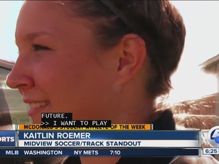 Student Athlete of the Week: Kaitlin Roemer