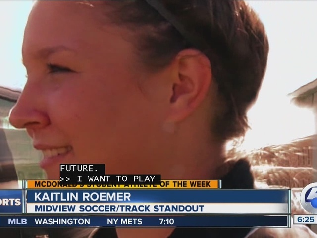 Student Athlete of the Week: Katline Roemer