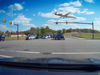 CRAZY VIDEO: Low flying plane near Akron airport