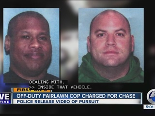 Charges filed after officers chase off-duty cops