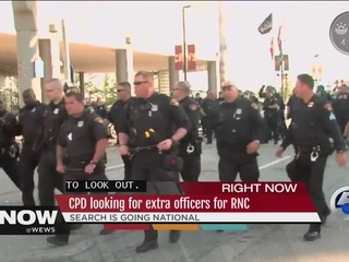 CLE police search nation for RNC security help