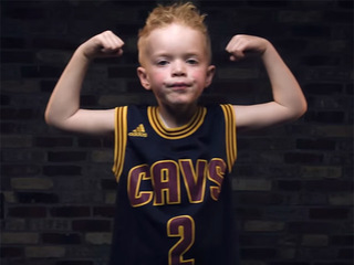 6-year-old stars in the cutest Cavs hype video