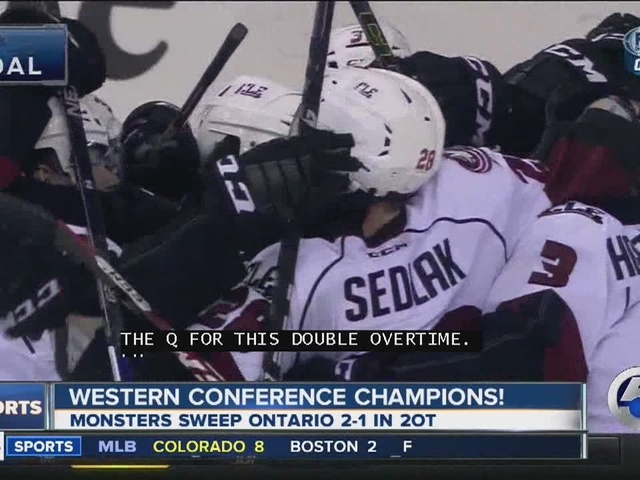 Lake Erie Monsters sweep Ontario region with double overtime win