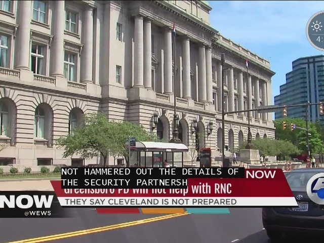 Police departments back out of RNC security partnership