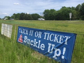 Click it or ticket enforced Memorial Day weekend