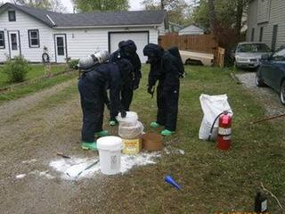 Police execute meth bust in Vermilion
