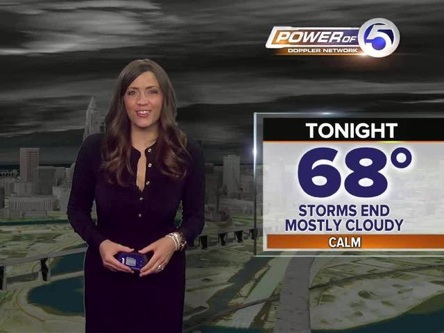 FORECAST: Cold front moves in for Sunday