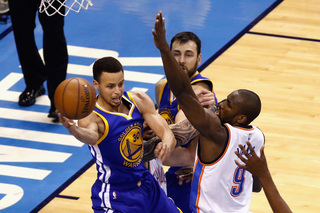 Warriors conquer Thunder in game 6