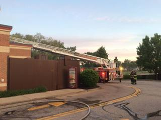 Fire breaks out at Wendy's in Maple Heights