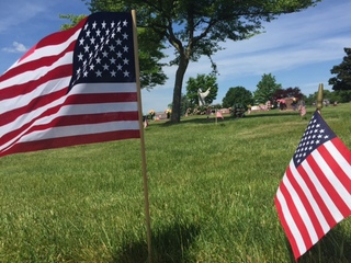 15,000 flags honor veterans in Brookpark