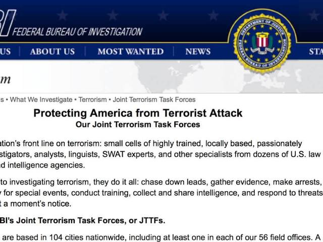 FBI's joint terrorism task force prepares for the RNC