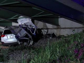 1 dead, three injured in I-77 crash