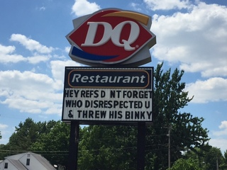 Elyria Dairy Queen roasts Steph Curry, Warriors