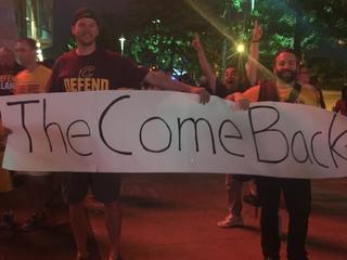 Cleveland celebrates Cavs' NBA Championship win