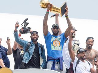 WATCH LIVE: LeBron James celebration in Akron