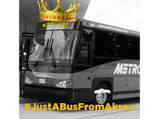 Akron Metro offers free rides for LeBron event