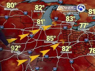 FORECAST: Warming trend for your weekend
