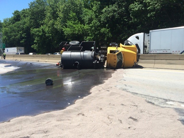 I-90 eastbound reopened after serious crash past Eddy Road ...