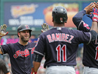 Indians get 13th striaght win, beat Toronto 4-1