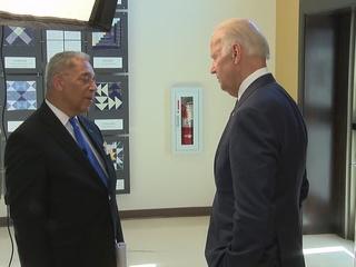 VIDEO: Leon Bibb has 1-on-1 with VP Joe Biden