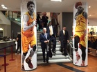 Vice President Biden hits Cavs team shop