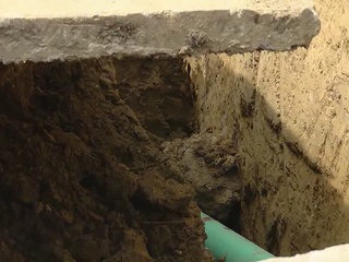 Two injured in trench collapse in Willoughby