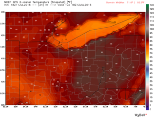 Turning Up the Heat: More 90 degree days ahead