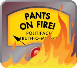 PolitiFact: No