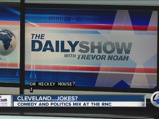 Cleveland jokes: comedy, politics mix at RNC