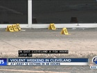 10 shootings reported in 2 days in Cleveland