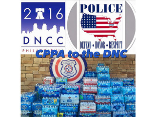 CPD and restuarants donate food to DNC police